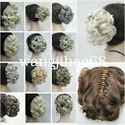 Fashion Short Curly Wavy claw clip ponytail hair pieces wig cosplay