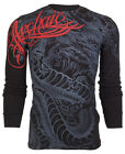 Archaic AFFLICTION Mens THERMAL T-Shirt DRAGON RAGE Tattoo Biker UFC $58