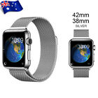 Stainless Steel Magnetic Bands Loop Watch Bands Strap For Apple Watch iWatch