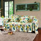 Canvas 100% Cotton Slipcover Sofa Cover tUSl for 1 2 3 4 seater Floral jq