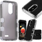 For ZTE Prestige 2 HARD Astronoot Hybrid Rubber Silicone Cover +Screen Protector
