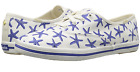Womens Kate Spade Keds Kicks Starfish Adventure Sneakers Blue White Star Fish NI