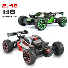 2.4G Remote Control X-Knight 1:18 Racing Buggy RC Car Truggy Monster Truck Toys