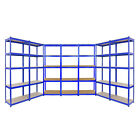 Metal Boltless Garage Racking Warehouse Storage Shelving 5 Tier Heavy Duty Shelf