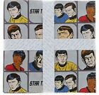 STAR TREK - CARTOON HEAD SHOTS - ON GREY - BY CAMELOT - 100% cotton fabric