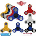 FIDGET FINGER SPINNER HAND METAL BEARING STRESS RELIEF FOCUS POCKET TOY UK