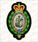 Large Royal Regiment of Fusiliers Embroidered Biker Patch
