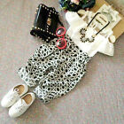 Toddler Kids Baby Girls Clothes Set Tops Shirt+Pants Trousers 2pcs Outfits 2-7Y