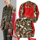Off White C/O Virgil Abloh Jacket Pyrex Vision Coat Camo Army Sweatshirt Vintage
