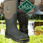 Muck Chore Black CHS-000A or Moss CHS-STMG Safety Wellington Boots