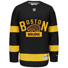 Boston Bruins Reebok NHL Mens Premier 2016 Winter Classic Jersey Vintage Retro