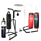 BOXING PUNCHING BAG RACK - BOXING STAND WHITE / BLACK - SET CHOOSE YOUR OWN