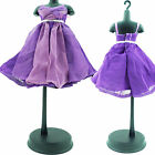 Lot Mini Dress Skirt Outfit Party Wedding Evening Clothes For Barbie Doll Gift H