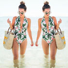Women One-Piece Swimsuit Beachwear Swimwear push up monokini bikini Bathing suit