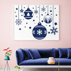 Impediment Decal Christmas Ball Decal New Year Design Holiday Sticker Home Decor MA319