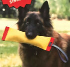 "13"" Sqwuggie Dog Toy Fire Hose Material Strong Tug Squeaker by Katie's Bumpers"