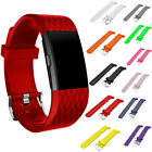 Sports Soft Silicone Smart Watch Strap Wrist Band Replac For Fitbit Charge 2 New