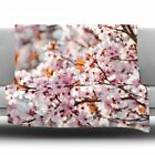 East Urban Home Flowering Plum Tree Fleece Throw Blanket