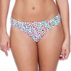 Freya Swimwear Party Animal Gathered Hipster Bikini Brief White/Multi 3778