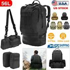 40L/55L Outdoor Military Tactical Backpack Rucksack Camping Hiking Trekking NEW