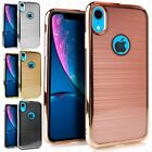 For ZTE Blade X Max IMPACT TUFF HYBRID Protector Case Skin Cover + Screen Guard