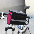 Bicycle Bike Outdoor Cycling Front Basket Frame Pannier Handlebar Rack Bag Pouch