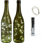 15 LED Bottle Lamp Xmas 1M Cork Shaped String Light Battery Wine Night Starry