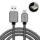 USB 3.1 Type C USB-C to Male USB Data Charger Braided Charging Cable 1/1.5/3M