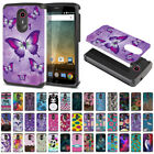 For ZTE N817 Quest Uhura Shock Proof Impact Hybrid TPU Hard Case Cover