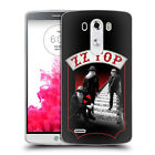 OFFICIAL ZZ TOP BAND ART SOFT GEL CASE FOR LG PHONES 1