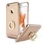 For iPhone 6 6S 7 Plus Ring Case Luxury Ultra Thin Hybrid Protective Hard Cover