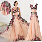 2017 Womens Plus Long Formal Evening Quinceanera Gown Bridesmaid Wedding Dresses
