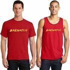 BAE Watch T Shirt Baywatch Movie Funny Mens Red Tank Top Small to 4XL Free Ship