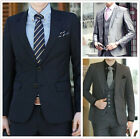 Brand Mens Formal Suits Two Button Wedding Evening Party Graduation Suits S-5XL