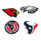 Embroidered Iron On Patch NFL Team Logo National Football league Sport Sew DIY $2.89 USD on eBay