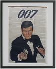 James Bond Print No.444, roger moore, 007, james bond poster, sean connery $19.0 AUD