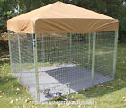 K9 Kennel Modular Complete Galvanized Steel Yard Kennel