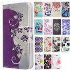 For LG Rebel 2 L57BL Premium Leather Wallet Case Pouch Flip Phone Cover