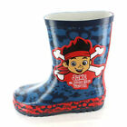 BOYS JAKE AND THE NEVERLAND PIRATES WELLINGTON BOOTS