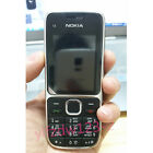 Original Unlocked Nokia C2-01 Hebrew Keyboard Etc. 3G Black Gold  Mobile Phone
