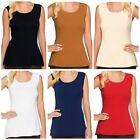 Kathleen Kirkwood~Cotton Spandex Swing Cami Camisole~A256329