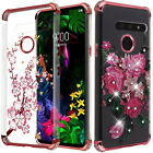 For LG Phoenix 3 M150 Hard Gel Rubber KICKSTAND Case Phone Protector Cover