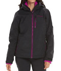 Columbia Women's Slope Sweetie Interchange Hooded Winter Jacket Black NWT $220