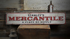 Mercantile Place Of Suppy, Custom Store -Rustic Distressed Wood Sign ENS1001385A