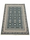 Soft Natural Dyed Turkish Bamboo Silk Rug 6006 Castle Collection by Benissimo