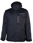 Men's Columbia Convert Omni Heat Hooded Winter Ski Jacket Black NWT XL XXL $170