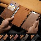 Leather Removable Wallet Magnetic Flip Case Cover For iPhone X 6S 7 8 Plus S001