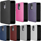 For Samsung Galaxy Express Prime 2 J327A HYBRID IMPACT Diamond Case Phone Cover
