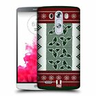 HEAD CASE DESIGNS KNITTED CHRISTMAS HARD BACK CASE FOR LG PHONES 1