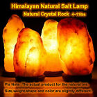 Himalayan Salt Lamp Natural Ionic Rock Crystal Dimmer Air Purifier Night Light